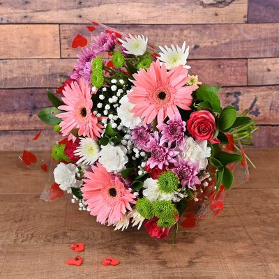 Pink Delight Bouquet | Hamper World Florist