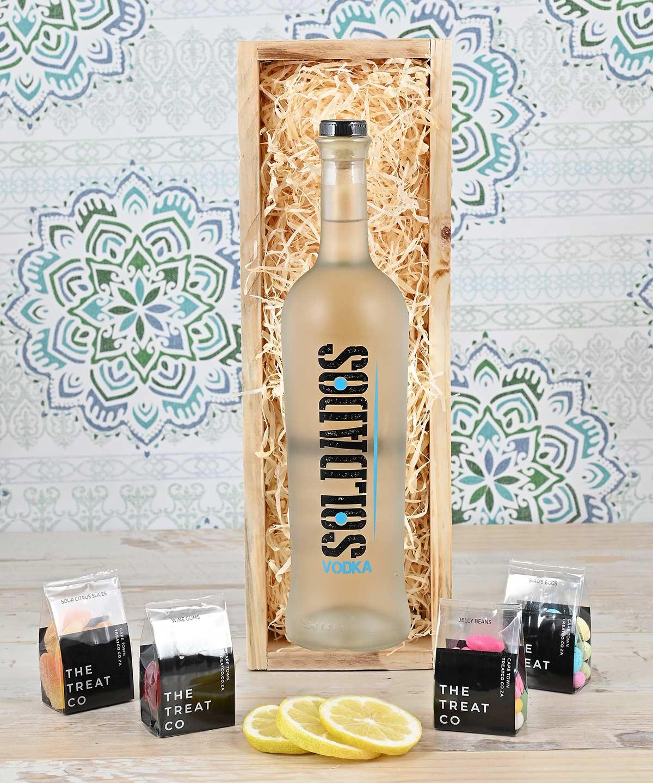 Soldados Vodka Hamper with Sweets | Hamper World