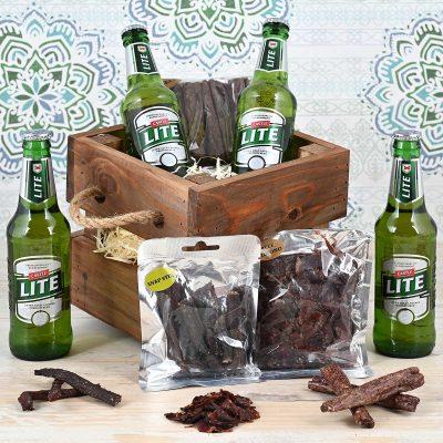 Castle Lite Beer Crate | Hamper World