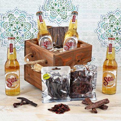 Sol Beer Crate | Hamper World